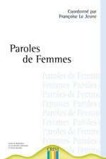 1ere de couv Paroles de femmes, histoires de femmes