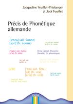 1ERE DE COUV PRECIS DE PHONETIQUE ALLEMANDE
