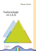 1ere de couv Traductologie en LEA