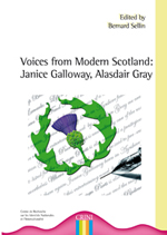 1ere de couv Voices from Modern Scotland: Janice Galloway, Alasdair Gray