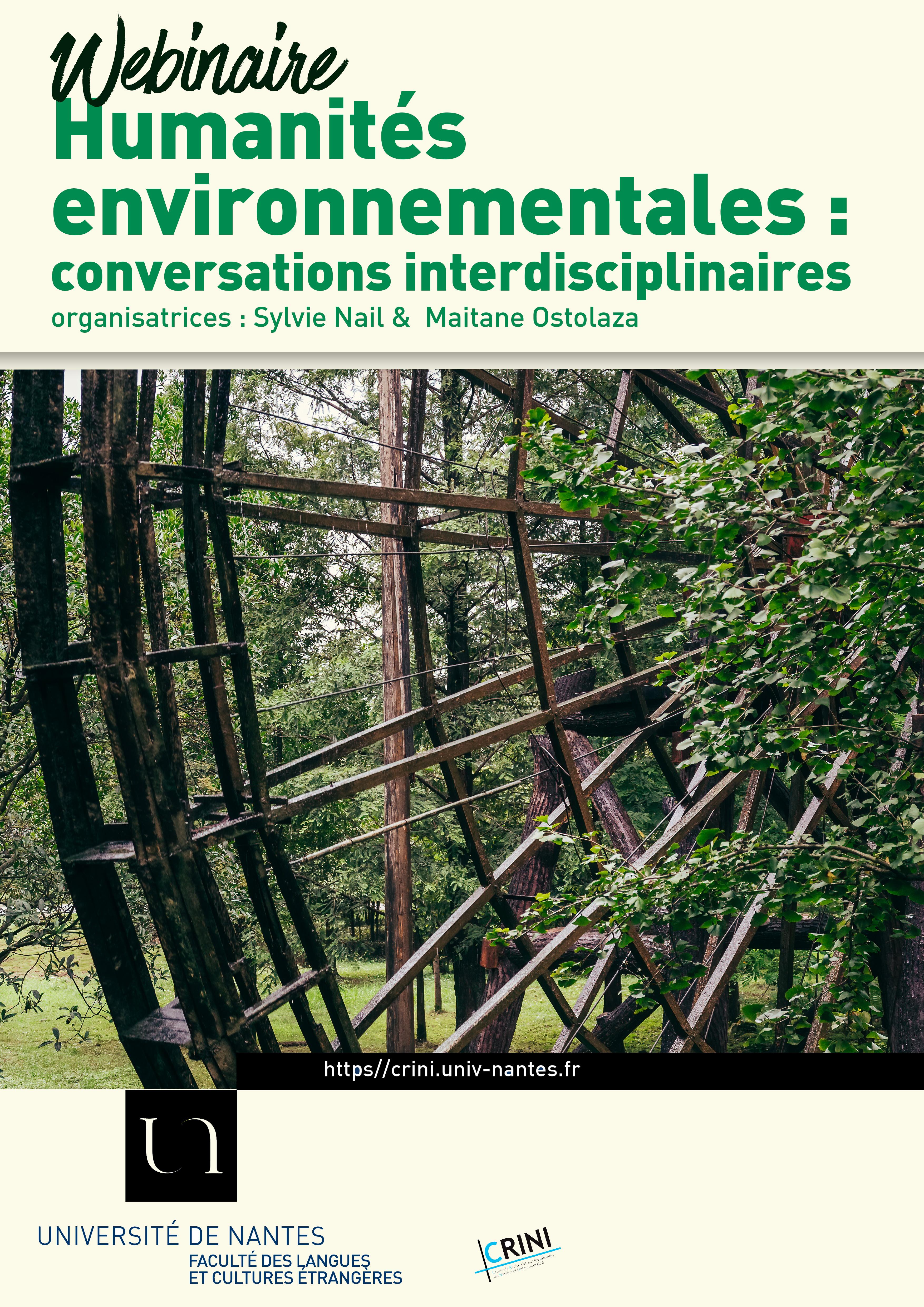 humanités environnementales affiche webinaire