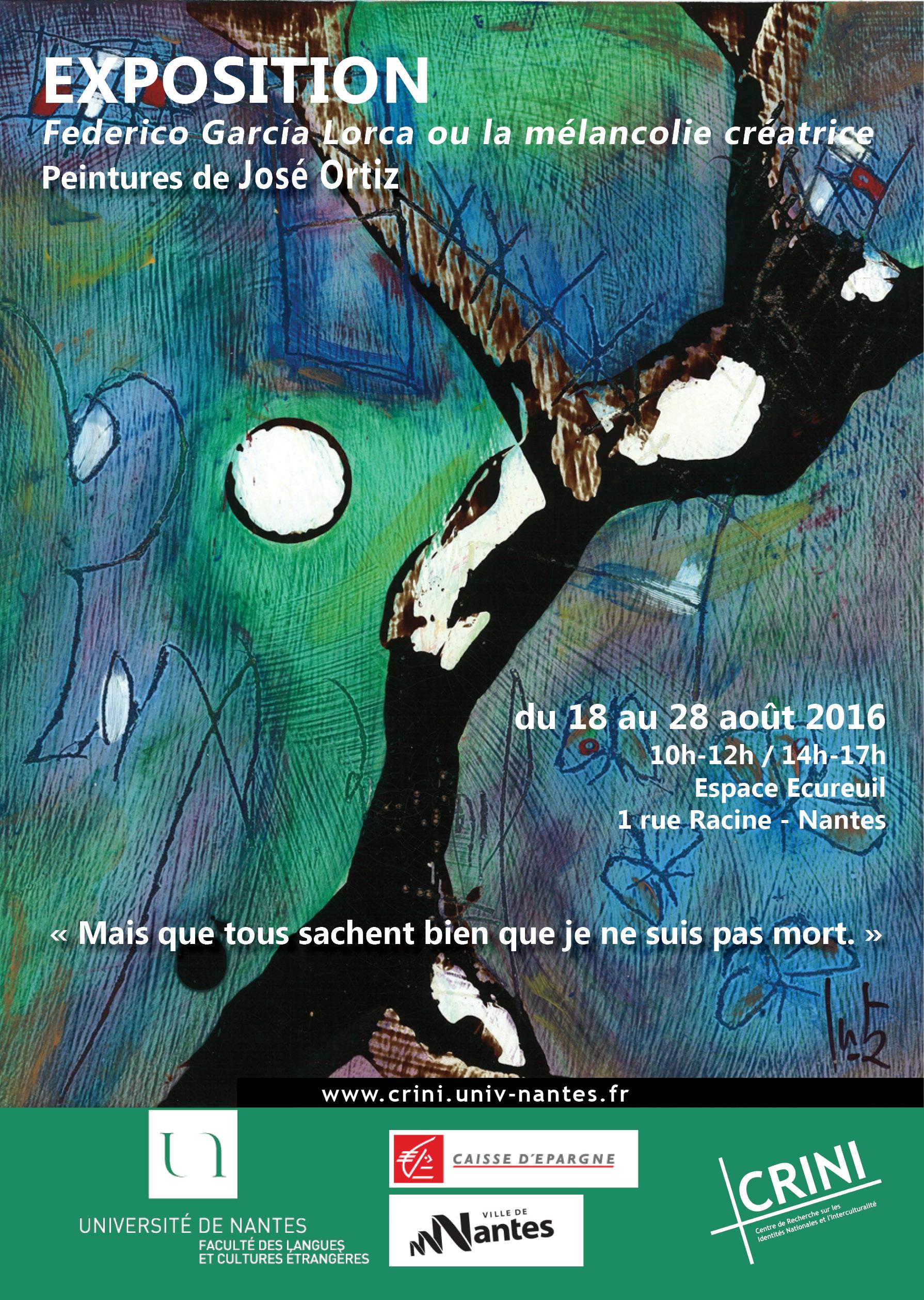 Affiche exposition Espace Ecureuil