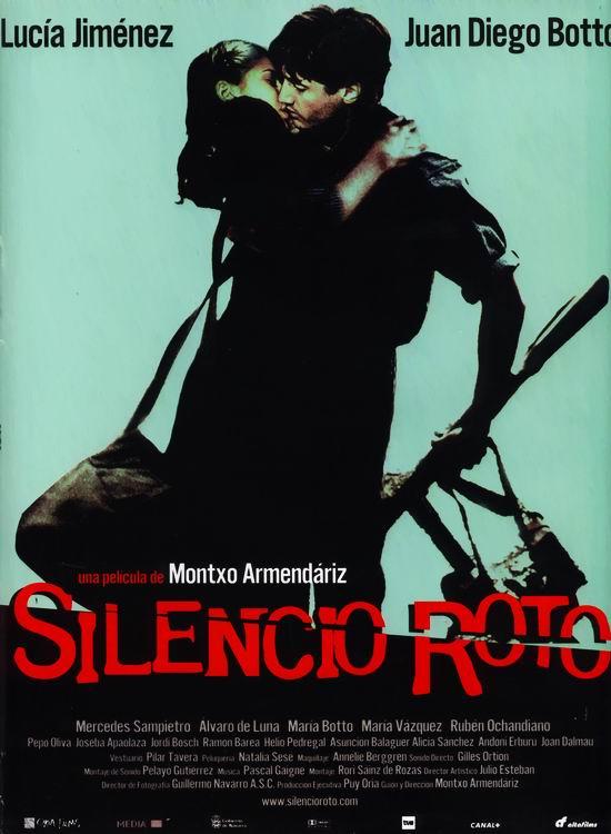 Affiche Silencio roto de Montxo Armendariz