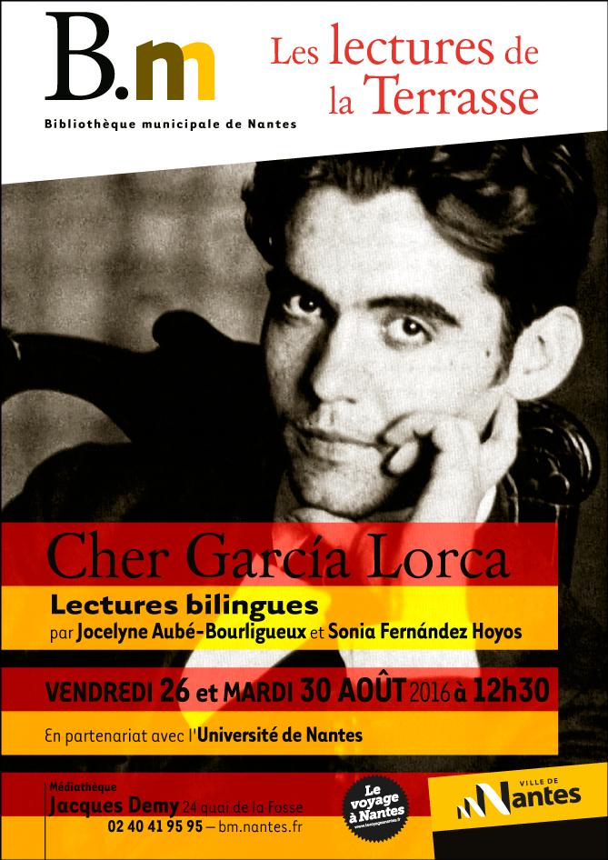 "Lectures bilingues ""Cher García Lorca"""