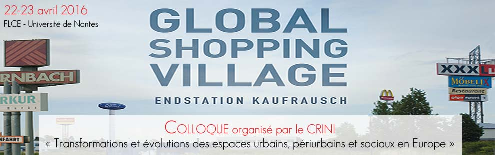 Colloque Global Shopping Village