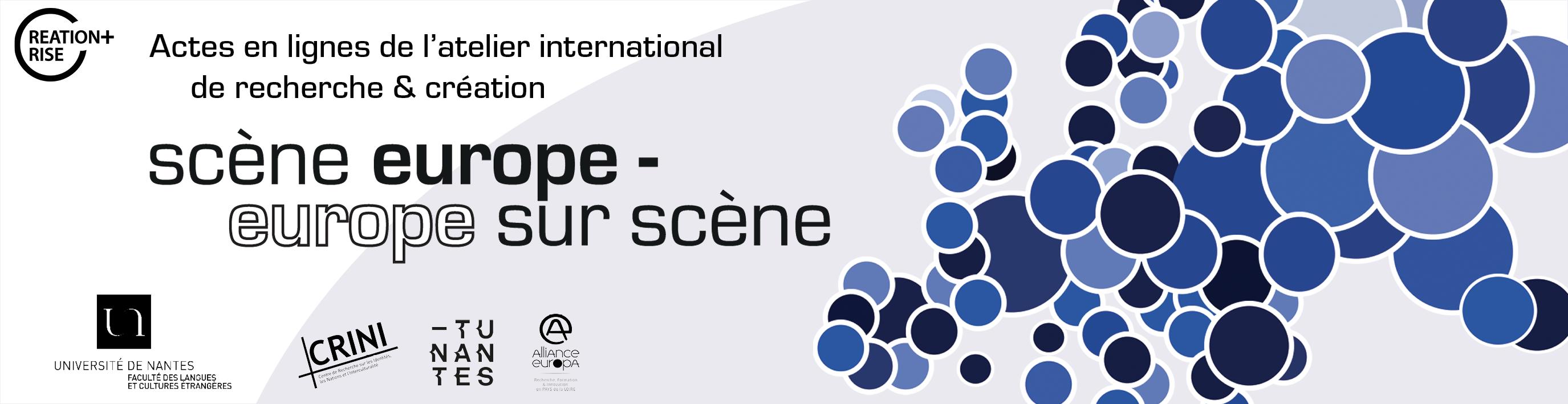 Scène Europe, Europe sur scène