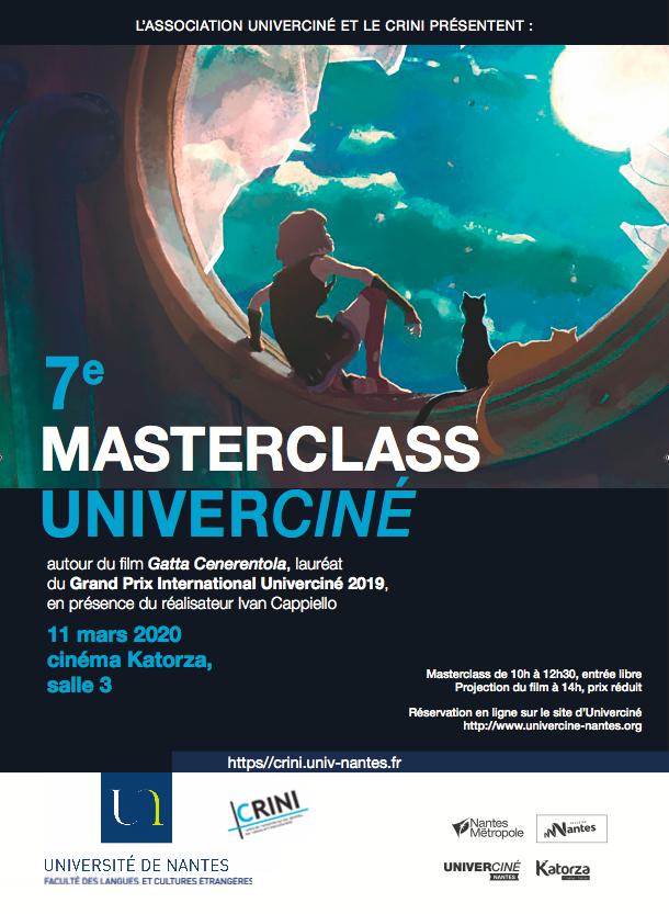 masterclass univerciné italien flce crini
