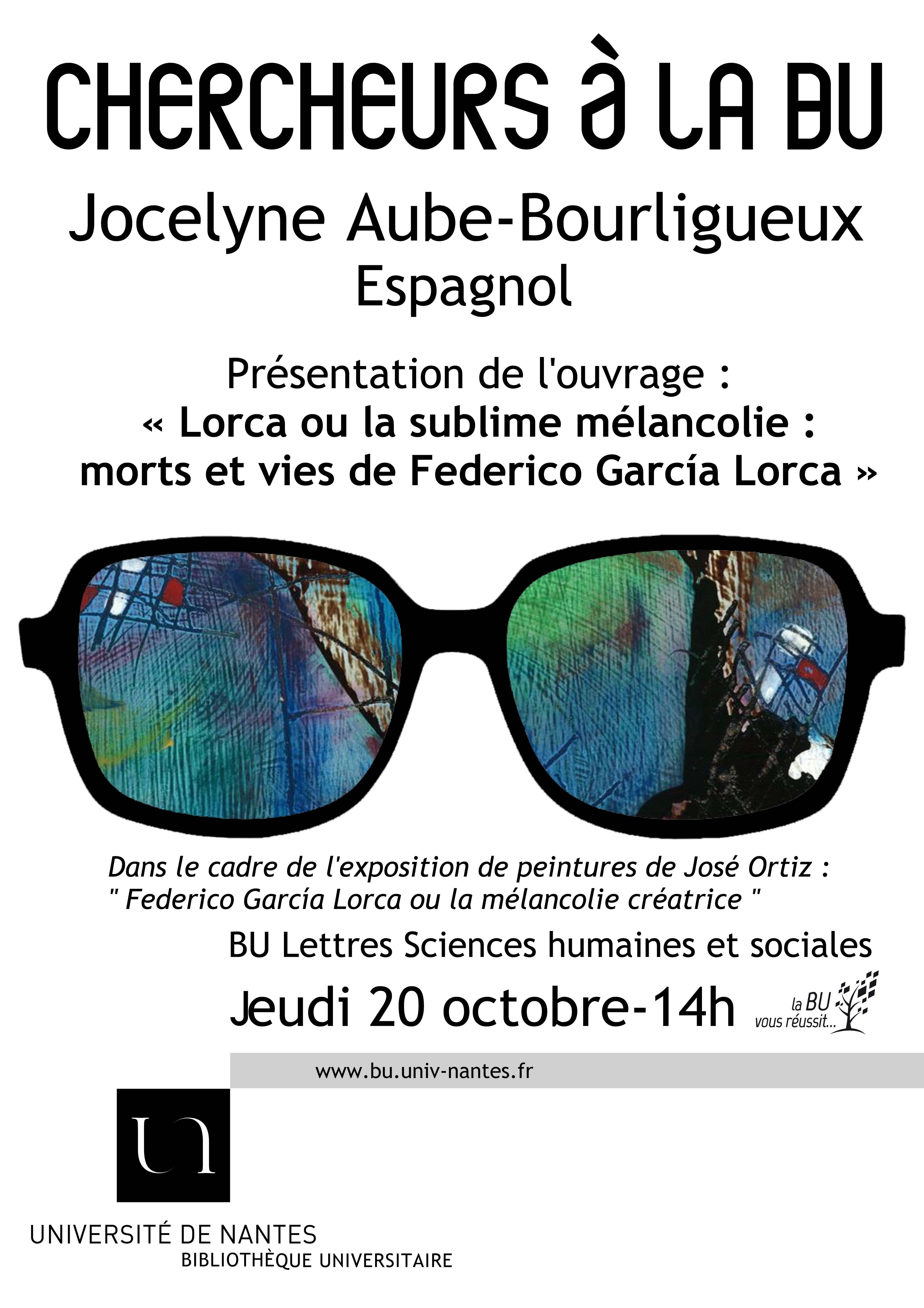 Chercheurs à la BU - Jocelyne Aubé-Bourligueux