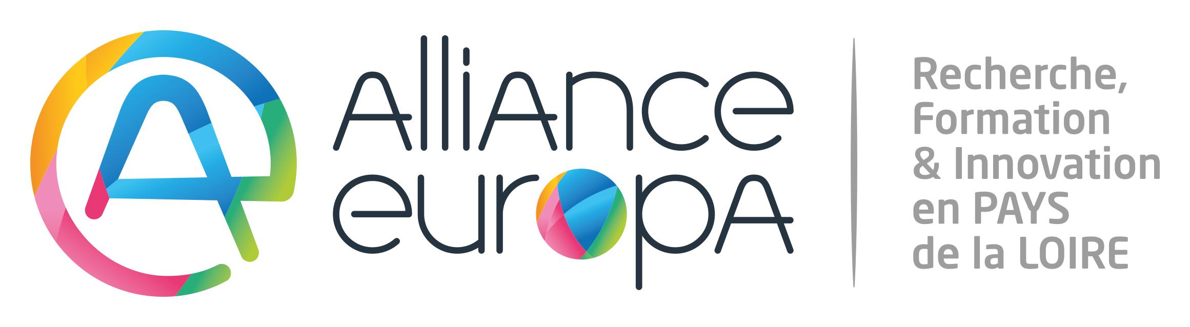 recherche formation innovation pays de la loire alliance europa logo
