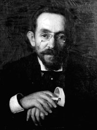 Portrait d'Isaac Pavlovsky